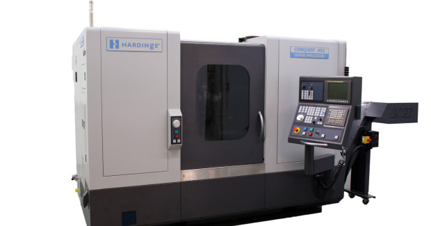 Booths S-8738, N-6936: The all new Conquest H51 SP turning center from Hardinge features a 20 hp, 5,000 rpm A2-6 in main spindle with 2 in bar capacity. It offers a generous maximum turning diameter of 12.3 in and a maximum turning length of 25.6 in. The 12 station turret offers ½ station index for up to 24 tools.