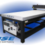 Booth N-6466: The HSE Laser System from Kern Lasers can cut woods, metals, acrylic, and more at speeds up to 10 ips, and engrave up to 150 ips.