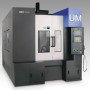 Booth S-8129: The Sirius UM 3-axis vertical machining center from Hwacheon features a 850 mm (33.46 in) x 500 mm (19.70 in) work table with 800 kg (1,764 lb) load capacity, strokes of (X, Y, Z) of 750 mm (29.53 in) x 500 mm (19.70 in) x 450 mm (17.72 in), and rapid positioning of 24 m/min. The 40 taper (BBT and HSK optional) tools are changed in 2.5 seconds.