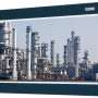 Booth E-4541: To be installed on field sites, the industrial fieldbus panel PCs IPPC 1632P and IPPC 2132P from NEXCOM deliver high reliability with its robust design. The UL60950, EN61000-6-2, and EN61000-6-4 certified IPPCs provide isolation protection on DI/Os and COM ports and support wide power input of 12V~30VDC. The IPPC 1632P and IPPC 2132P have a fanless metal enclosure, IP66-rated front panel, and aluminum front bezel. Combining the flush front design, the IPPC 1632P and IPPC 2132P provide protection against airborne dust, chemical substances, water ingress as well as ease of maintenance. (second view)