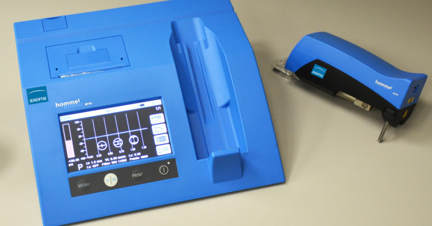 Booth E-5545: Capable of checking more than 40 roughness and waviness parameters using an extensive array of probes and accessories, the new W10 mobile surface roughness measuring system from Jenoptik can match the performance of more expensive stationary systems with its accuracy and precision. It can track eight separate measurement programs, including one for device verification, up to 100 separate profiles, with a total storage capacity of up to 10,000 completed measurements.