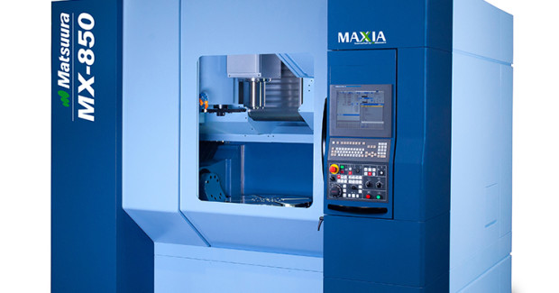 Booth S-8640: Matsuura 5-axis and multi-pallet premium machine tools from Yamazen include the H.Plus-300 20K, LX-160 42 Pallets, CUBLEX-35 20K/HSK 63 with tailstock and grinding, MX-850 15K/High Power/CAT40 (shown), and the MAM72-100H 10K/50 Taper. These machines incorporate decades of Matsuura expertise in developing and manufacturing innovative machining equipment and technology.