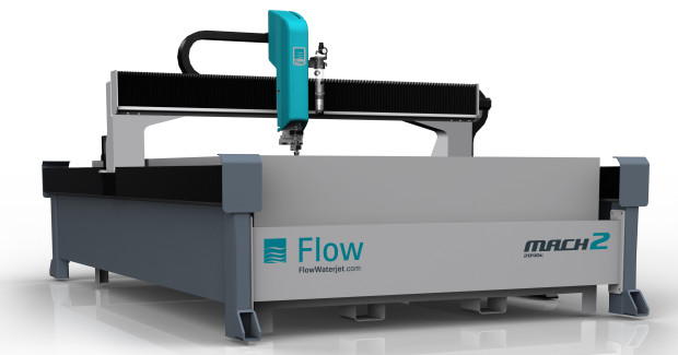 Booth N-6217: The Mach 2c from Flow is a value-priced machine tool optimized for either pure or abrasive waterjet cutting. Whether cutting 3 in thick steel plate or multi-stacked gasket material, the Mach 2c provides fast and accurate cutting at an exceptional price. And now, Dynamic Waterjet is available on the Mach 2c.