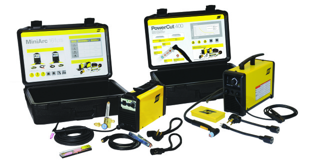Weighing only 18 lb, the MiniArc 161LTS is an extremely portable, 115V or 230V, single-phase machine that provides outstanding results for GTAW (TIG) and Stick welding, and is able to use cellulosic 6010 electrodes with ease.