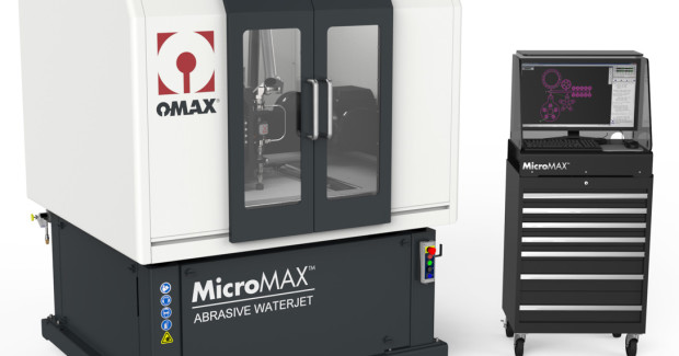 Booth N-6228: The MicroMAX® JetMachining Center from OMAX brings the speed, versatility and accuracy of abrasive waterjet cutting to the production of parts that are smaller than 300 microns and made from a wide range of materials, including exotic metals, advanced composites, polymer thermoplastics and glass. Ideal for prototype development and production runs, the rigid MicroMAX cuts delicate, complex patterns requiring high precision.
