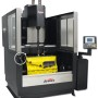 Booth E-5510: The PLC-controlled SV-20 from Sunnen utilizes a color touch screen, with a toggle switch to jog for fast setup. The swiveling operator panel can be adjusted for viewing from a variety of positions. A hand wheel on the machine allows left/right positioning of the column on its 760 mm (30 in) X-axis. The machine comes standard with a 208 L (55 gal) internal coolant system equipped with two standard canister filters. The rotary servo tool feed system can be used with two-stage hone heads to complete roughing and finishing without stone changes for faster processing times.