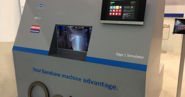 Booth N-7472: The new Band Saw Blade Simulator Program from Simonds will significantly improve the performance, productivity and ROI of a shop's sawing operation and turn the conventional method of specifying band saw blades by catalog selection upside down.