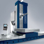 Booth S-8692: The KB-150W Series from Soraluce is a T-type boring machine for streamlined, multi-face machining of large sized work pieces. The combination of linear guiding and hydrostatic systems provides high dynamics improving machining capability, while the highly rigid structure and boring spindle design ensures long term machine precision. The KB-150W undergoes specific reliability and precision testing that will stand up to any demand. (second view)