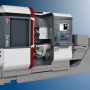 Booth S-8136: With two tool turrets, a main spindle with C-axis and 42 mm bar capacity (7,000 rpm, max. 29 kW and 65 Nm) and a swivel counter spindle with C-axis for extensive rear end machining, the TRAUB TNL42 automatic lathe from INDEX offers high production rates with only 5,5 m2 footprint (without bar loader). The vertical design of the machine with a setup-friendly work area permits unobstructed chip flow and better ergonomics for setup operations. The stable, vertical cast machine bed is mounted on a heavy cast iron machine base, providing excellent damping properties for high-precision cutting.