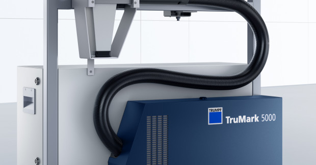 Booth N-6223: The compact and handheld processing unit of the TruMark 5010 Mobile Marker from TRUMPF eliminates the need to move the part in order to complete the laser marking process. Since the laser marking unit can be moved to the workpiece, the TruMark Series 5000 is more convenient and more comfortable for the operator.