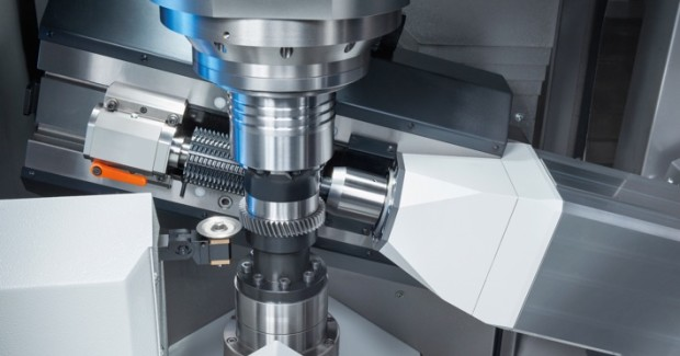 Booth N-6846: Gears with a maximum diameter of 8 in and module 4 can be dry-milled at greatly shortened cycle times on the VLC 200 H hobbing machine from EMAG.