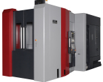 The HMC500 can reach cutting speeds of 15,000 rpm in a mere 1.7 seconds (with 50 hp) for faster machining of a variety of tough materials, including 1018 steel.