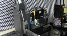 The servo positioning flag stop system will provide consistent adjustments resulting in quicker setup times.