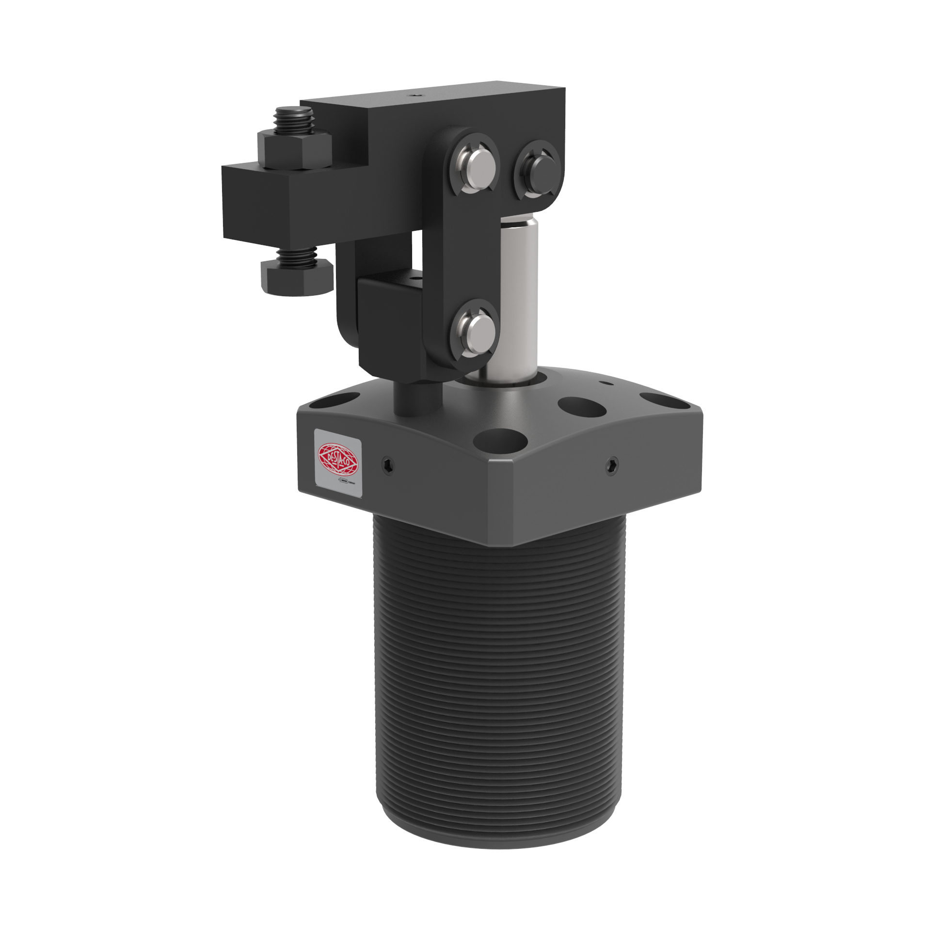 Revolutionary Compact Pneumatic Lever Clamp for Tight Spaces