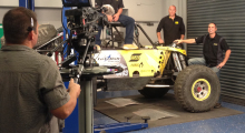 """On the show, guest Andrew McLaughlin, LetzRoll Offroad Racing owner, will help fabricate a new fully custom and trussed Ford 9"""" rear axle for the new LROR buggy using ESAB's PowerCut® 400 manual plasma cutting system and Caddy® Mig C200i MIG/MAG welder. Also highlighted will be ESAB's Heliarc® TIG welding machine and Migmaster® 280 Pro, MIG/MAG welding power unit. For maximum safety and comfort, McLauglin will sport ESAB PPE gear, including the new Aristo® Tech HD auto-darkening helmet, flame retardant Proban jersey, and MIG/TIG welding gloves."""