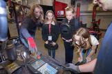 Girl Scout Cadettes met with some of the women who help run the company and also experienced hands-on virtual reality welding on the VRTEX welding system. Approximately 65 girls from eight counties in North East Ohio participated in the event.