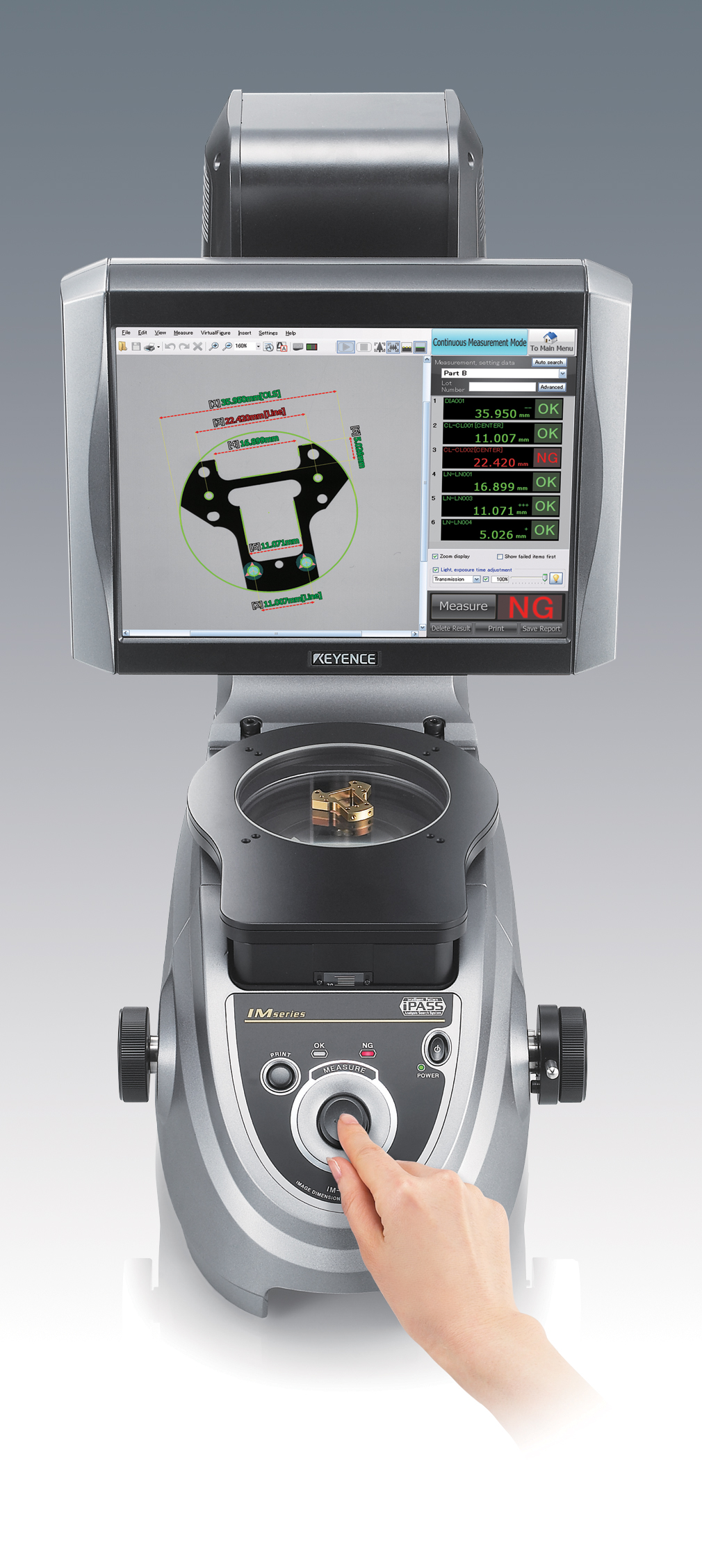 Advances In 3d Metrology And Automation Keyence Wiring Diagram Image Dimension Measuring Systems From Can Measure Up To 50 Features Only A Few Seconds On Some Of Leathermans More Complex Parts