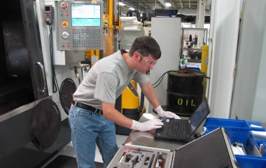 The shop tests X and Y on VMCs, X and Z on the lathes and full Y-Z testing on a few machining centers.
