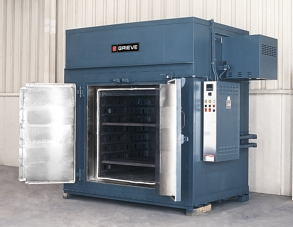 Heat Treating Oven : Ovens for paint baking heat treating and removing deposits