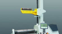 "Using the CNC control ""Seven,"" the PB4 machines with four rollers are ideal for high volume series production."