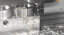 A vertical machining center should have a robust spindle design with exceptional horsepower, superior torque and wide-ranging spindle speed that cuts a wide variety of materials in reduced cycle times.