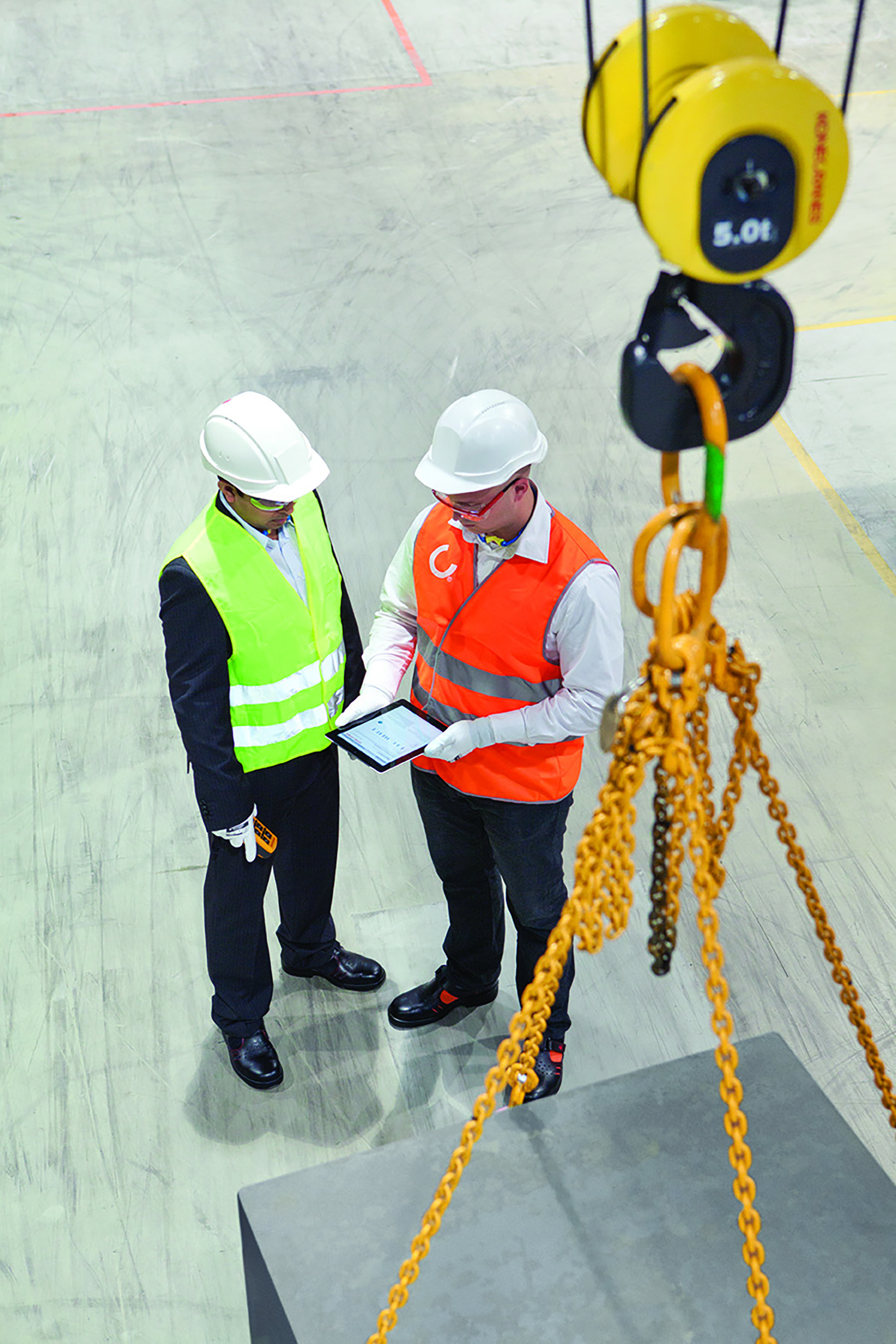 Overhead Crane Remote Safety : Need a lift