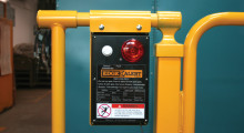 "The EdgeAlert alarm is easy to operate and can be installed on new or existing swing gates, slide gates, tilt gates or scissor gates.  It includes a 120 VAC plug-in power supply and can also be powered by four long-life alkaline ""D"" cell batteries.  A Single-Pole, Single-Throw 30V, 2A, 60W Relay Output is provided to connect to other alarms or safety controls.  A dual-channel processor system is self-monitoring and will display a ""fault"" signal if a sensor or wiring problem is detected."