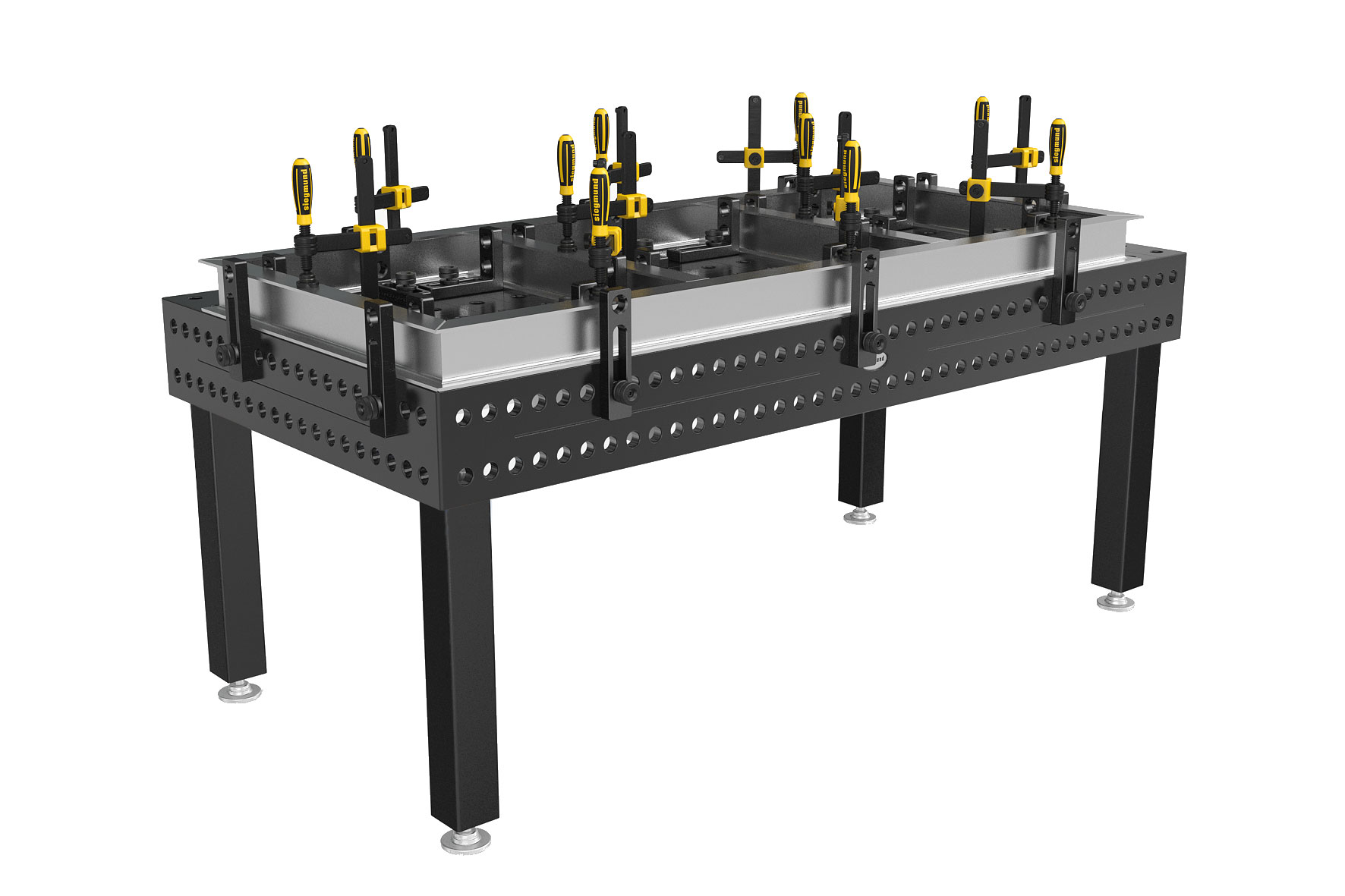 Professional Extreme 750 Siegmund Welding Tables From Strong Hand Tools Are Finished With A Plasma Nitride Treatment That Prolongs The Life Of Table