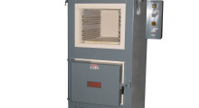 The Red Devil Dual Chamber Furnace is an affordable option for occasional heat treaters looking for durable energy efficient equipment. With both chambers 12 in H x 14 in W x 24 in L, the upper chamber is programmed to heat to 2200 deg F while the lower oven reaches 1200 deg F. Dual Chamber furnaces allow a shop to harden in the upper chamber then temper/draw in the lower oven without waiting for a single chamber unit to cool down.