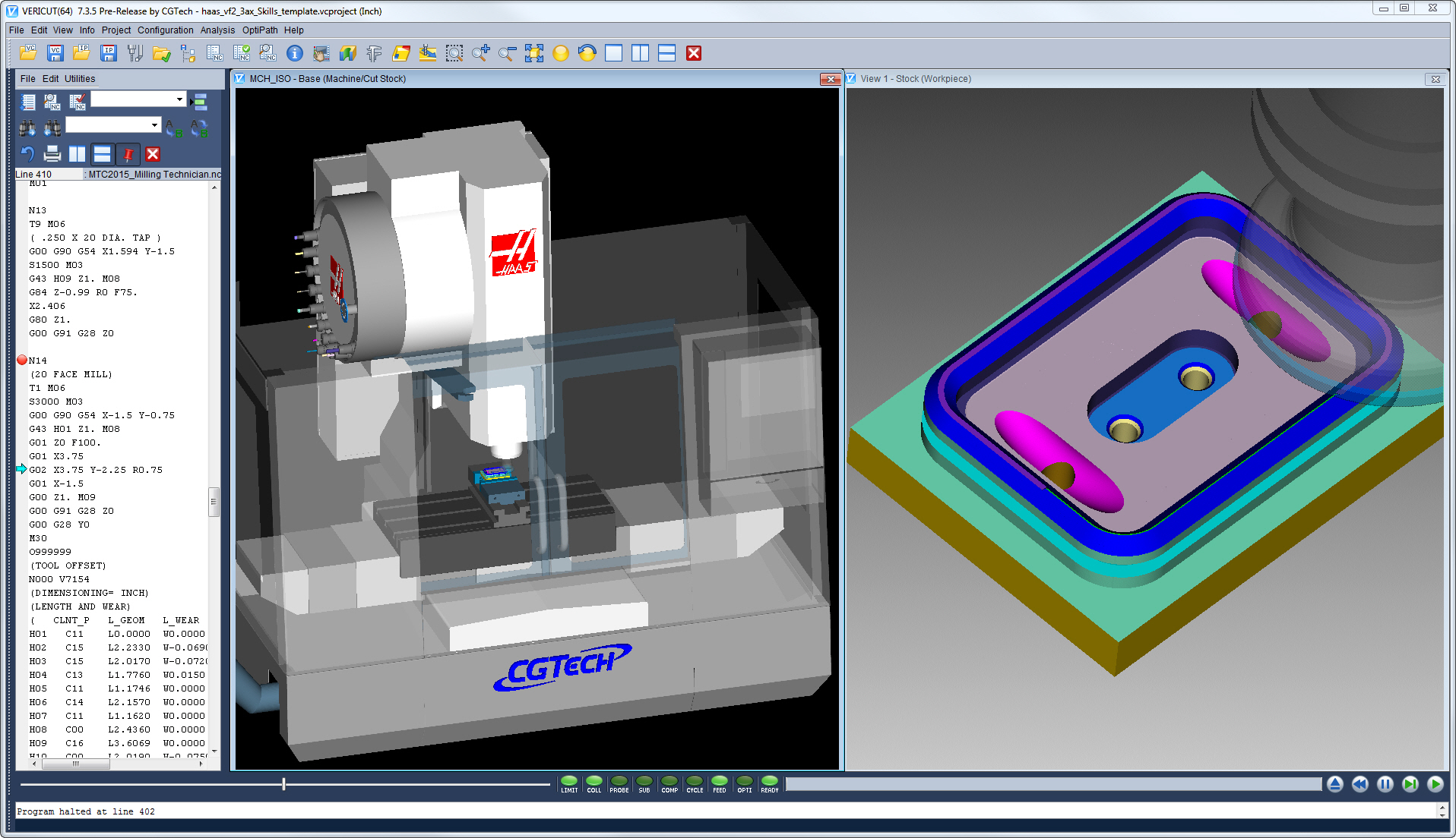 Cgtech Participates In Machining Contests