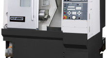 Making its American debut, the compact, economical HJ-250E horizontal CNC lathe from Okuma is excellent for machining parts for several industries.
