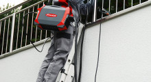 The portable AccuPocket 150/400 TIG battery-powered welding system from Fronius enables TIG welding to be performed at full power for up to 17 minutes without a main connection.