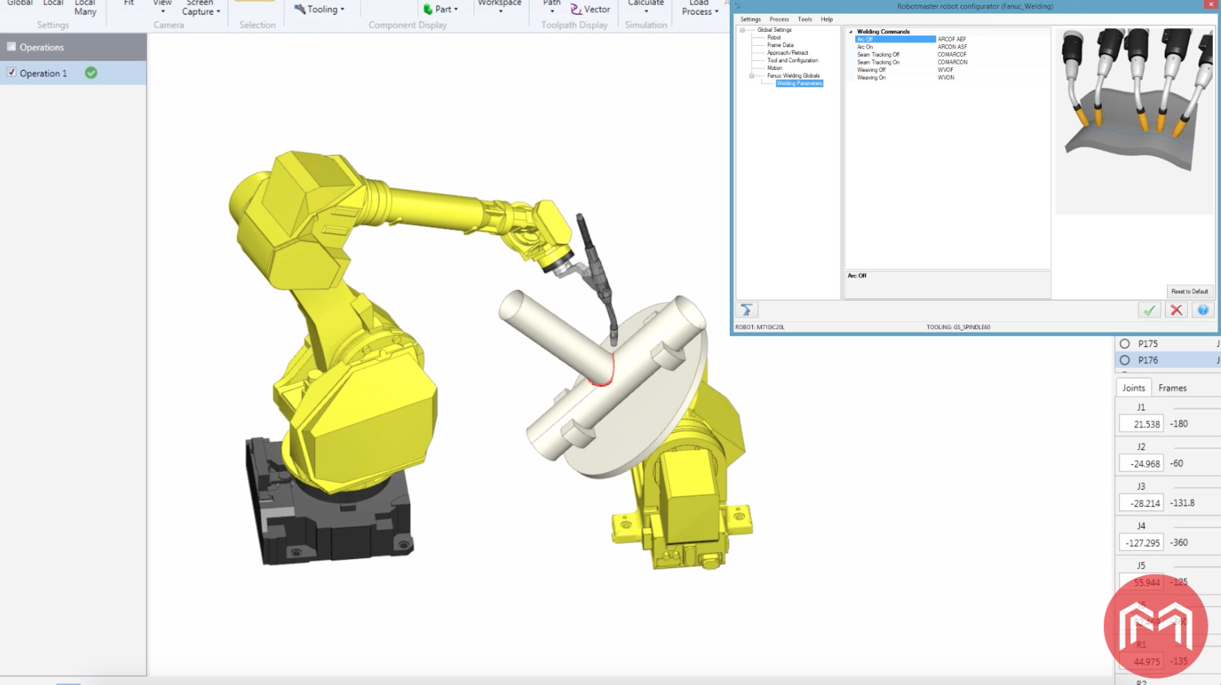 Automatic Generation of Weld Programs from CAD Models