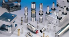 Booth C-736: Ideal for high speed, high volume metal stamping operations, the full line of Precision Linear Guide Elements and Die Sets from Agathon Machine Tools are available from 3 mm to 63 mm diameter and feature the highest quality materials and surface finish manufactured to the tightest manufacturing tolerances.