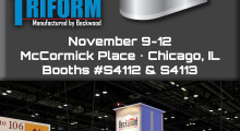 Booth S-4112: Beckwood Press will show how to solve the most difficult manufacturing challenges by utilizing the newest custom hydraulic presses, automation systems and Triform sheet hydroforming press technologies.