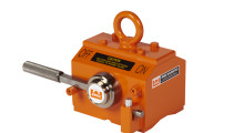 The trademark on the color orange encompasses the entire line of Eriez Lifting Magnets, including more than 12 models with lifting capacities ranging from 300 lb (136 kg) up to 10,000 lb (4,536 kg). These compact permanent magnets lift and transfer steel and iron without slings, hooks or cables.