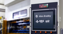 Booth S-4524: The Next Generation DSF Series Servo Press Control System from AIDA-America features Allen Bradley Control Logix that significantly improves the performance of the DSF Series servo press as the most flexible and productive stamping equipment in metal forming operations.