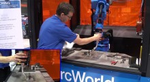Booth N-8020:With Kinetiq Teaching from Yaskawa Motoman, job shops can easily implement robotic welding with simplified teaching and reduced set-up times by allowing operators to guide the robot by hand to desired weld positions. Programming time is greatly reduced so that experienced welders can set welding jobs and oversee more than one robotic welder, or act as a technical and quality assurance resource for newer operators.