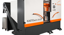 Booth S-3938: Fully automated KASTOwin bandsaws from KASTO improve efficiency in the mass production of solid material, tube and profile through high cutting performance, combined with quick set-up and optimal material handling, to considerably reduce costs per cut. (view one)