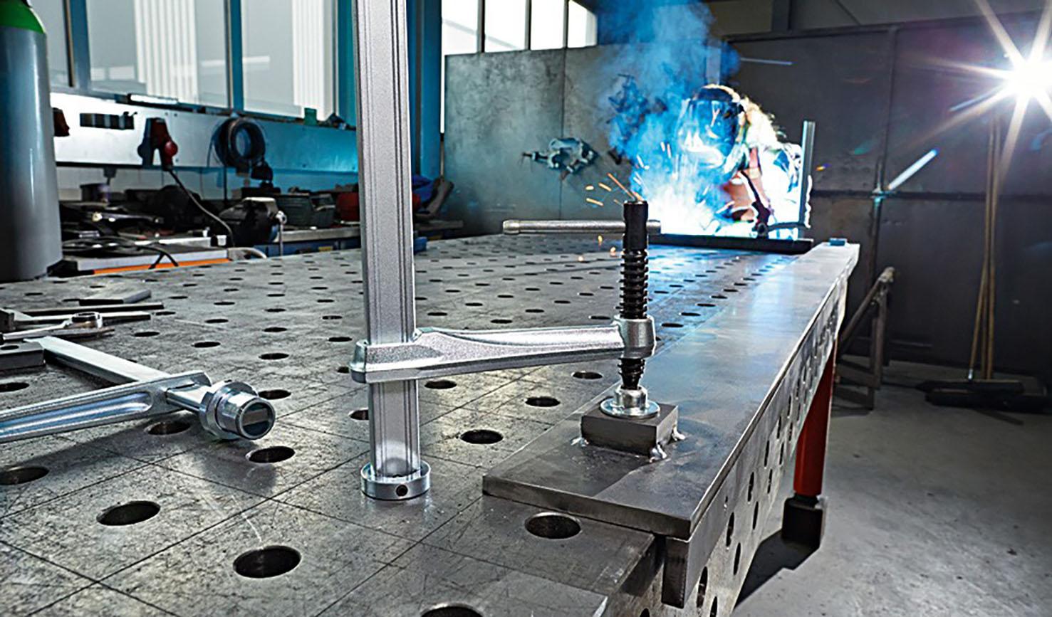 Matrix Table Clamps