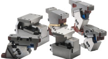 Booth S-4767: Ideal for piercing, flanging and trimming operations, LamCam Aerial and Die Mount Universal Cams from Dayton Lamina are available from 0 deg to 75 deg and use a V-guidance system to ensure precision guiding in virtually all applications, from low volume light duty to high volume heavy duty.