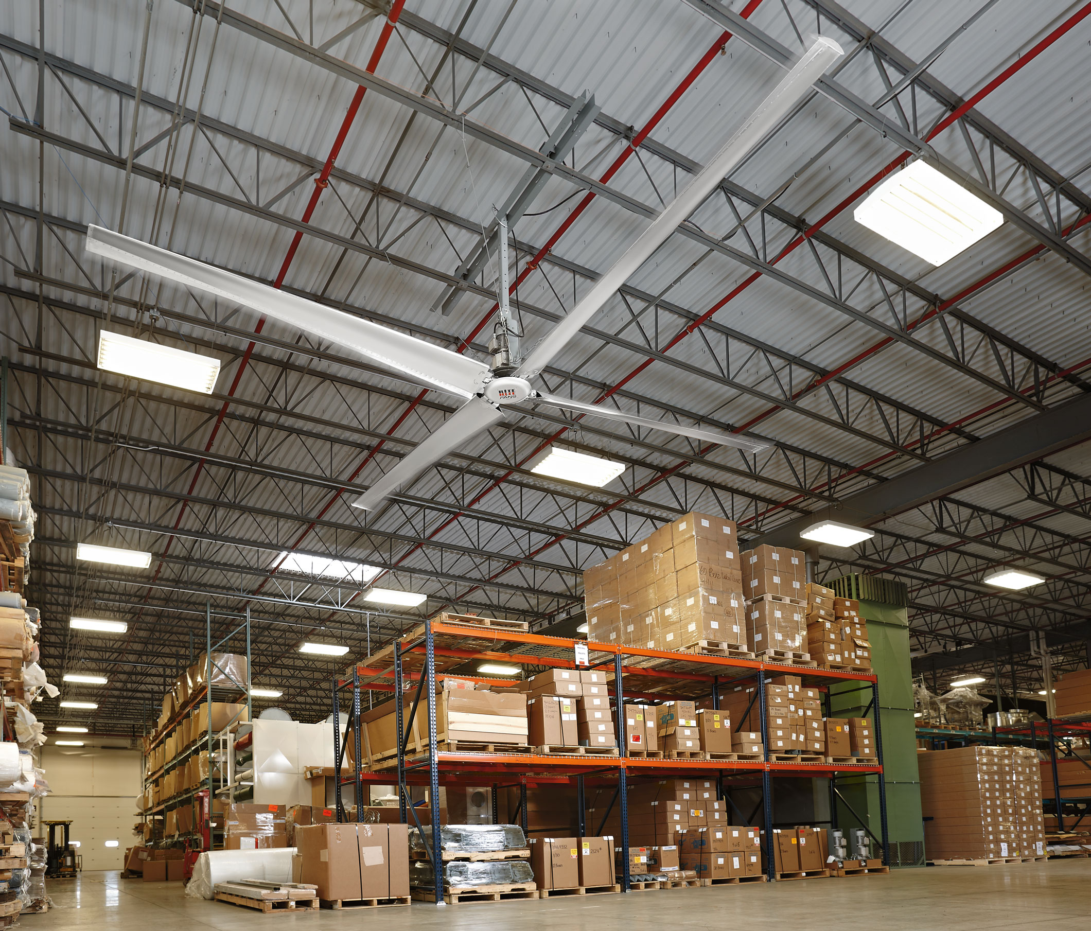 How HVLS Fans And Curtain Walls Improve Indoor Air Quality