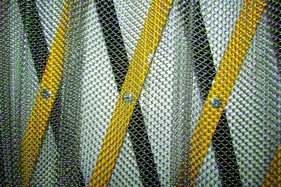 Booth S 2117 Strong Stainless Steel Mesh Safety Curtains From North American Products Can Be Added To Any Rear Guard Product Maintain