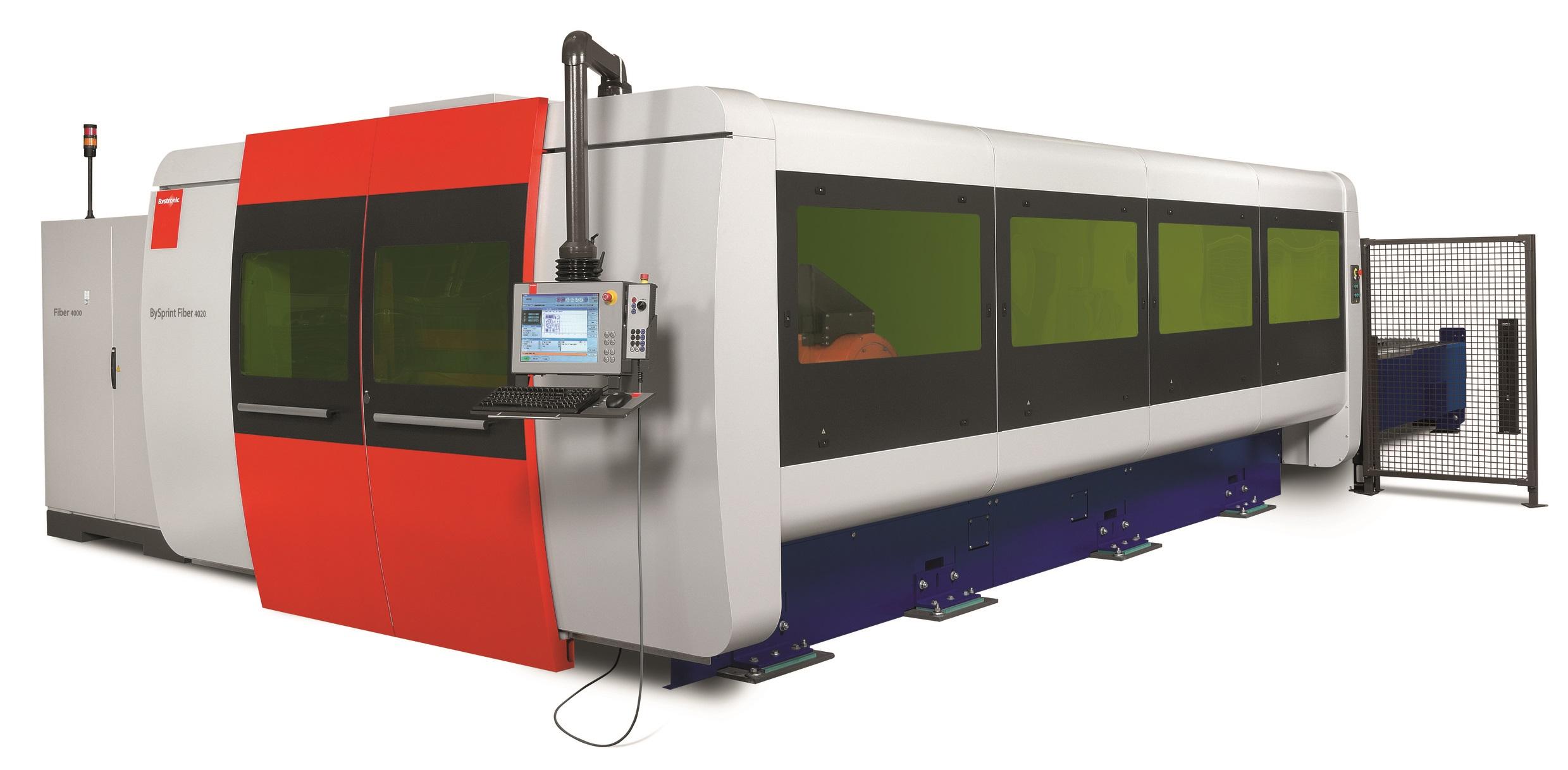 bystronic fiber laser cutting machine