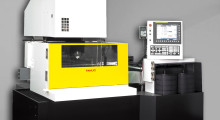 The FANUC Robocut c600iA Wire EDM from Methods Machine Tools burns with virtually no re-cast, features the powerful FANUC 31i-WB Control, an extremely reliable AWF that threads while submerged through the gaps of parts up to 8 in thick, and a new economy mode for energy and wire usage savings.