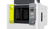 The new compact Tongtai CT-350 five-axis vertical machining center from Absolute Machine Tools boasts high-end machine construction and performance at an affordable price. Rigidity is ensured by its C-frame structure, 45 mm roller type guideways and pre-tensioned, large diameter ballscrews. The column has a wide span, making it torsion-resistant while cutting 5-axis parts.