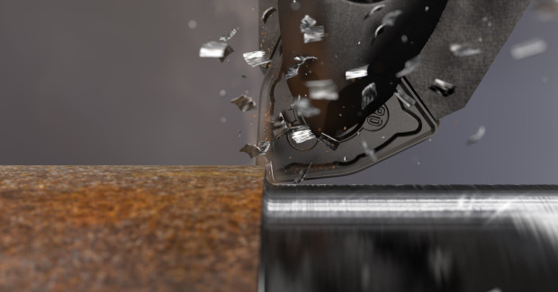 The GC3225 grade insert from Sandvik is ideal for secure and trouble-free machining, even in the most difficult conditions, in cast iron turning applications. By using the insert in machining of nodular cast iron it was possible to increase tool life by 70 percent compared to a competitor grade.