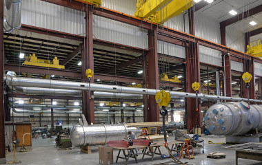 Ambient systems clean the air for the entire facility and capture weld smoke that source capture methods may miss.