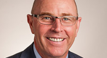 """Hardy Hamann, Dynabrade """"I'm honored to assume the role of company president. I've known for many years that Dynabrade is a recognized leader in the abrasive power tool  industry."""""""