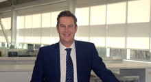 """Sean Holt, Sandvik Coromant """"I am excited for this new challenge. Sandvik is in a good place with a strong market position and we will continue to build on that."""""""